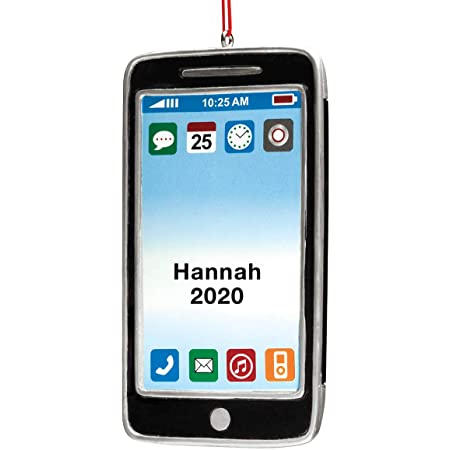 Fox Valley Traders Personalized Cell Phone Ornament