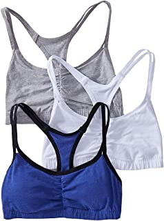 Fruit of The Loom Women's Cotton Pullover Sport Bra,...