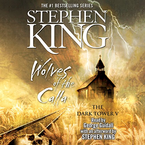 Wolves of the Calla     Dark Tower V              Auteur(s):                                                                                                                                 Stephen King                               Narrateur(s):                                                                                                                                 George Guidall                      Durée: 26 h et 20 min     90 évaluations     Au global 4,7