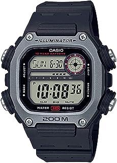 Casio DW-291H-1AVDF Resin Square Digital Watch for Men - Black