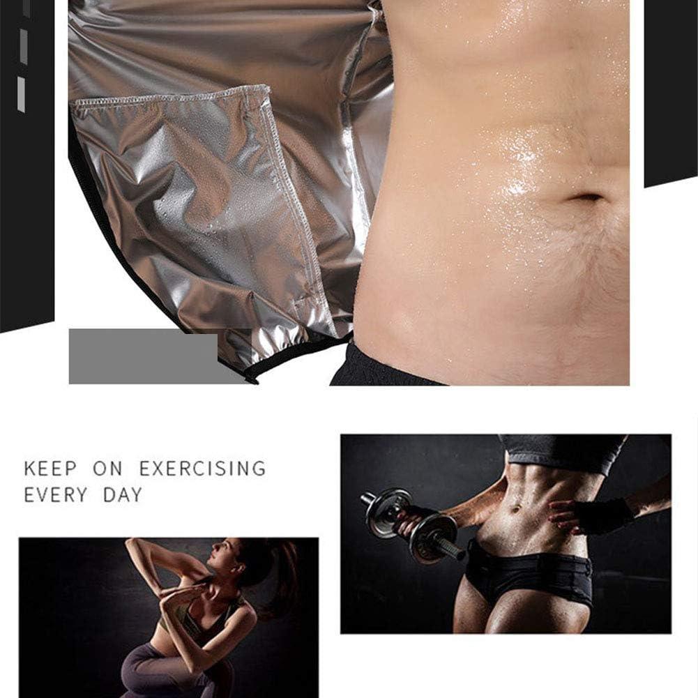 Sauna Trainingsanz/üge F/ür M/änner Weight Loss Fitness Gym /Übung Kapuzenjacke Hosen Body Suits Gr/ö/ße: M ~ 8XL Trainingsanz/üge Anti Rip Schwei/ßanz/üge Trainingsjacke ,A,4XL