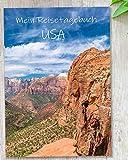 Reisetagebuch USA zum Selberschreiben | Tagebuch - Notizbuch mit viel Abwechslung, spannenden Aufgaben, tollen Fotos uvm | gestalte deinen individuellen Reiseführer für Amerika | Calmondo