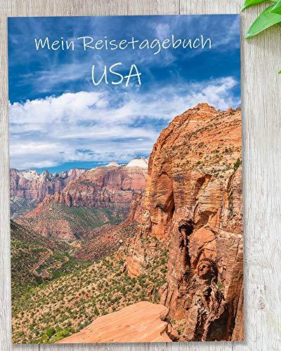Reisetagebuch USA zum Selberschreiben |mit viel Abwechslung, spannenden Aufgaben, Urlaubsvorbereitung, wunderschönen Fotos uvm. | gestalte deinen individuellen Reiseführer | Cover Grand Canyon