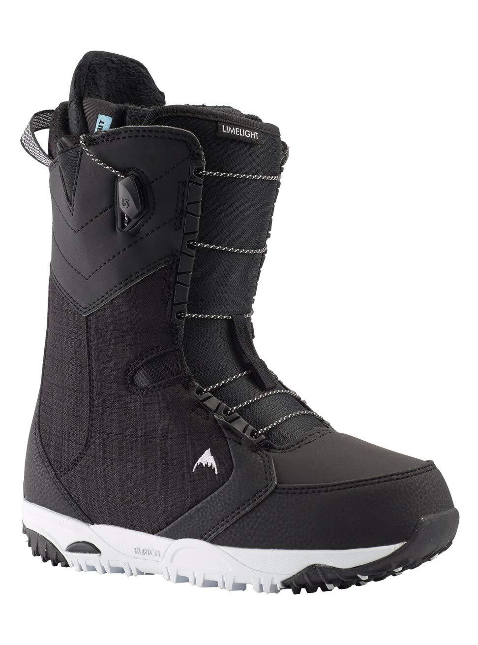 Burton Damen Limelight Snowboard Boot, Black, 10