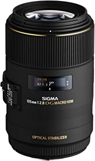 Sigma MACRO 105mm F2.8 EX DG OS HSM Lens for Nikon Cameras - 08370-00236-00