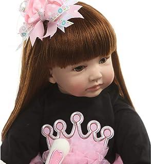 60センチシリコーンリボーンベビードールおもちゃのようなリアルビニールプリンセス幼児赤ちゃん人形女の子Bonecas誕生日プレゼントプレイハウス