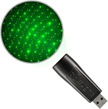 BlissLights Starport USB Laser Light for Game Room Accent, Home Theatre Lighting, Or Night Light Ambiance - (Green)