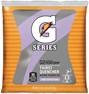 Gatorade Frost Riptide Rush Powder, 21-Ounce Pouch