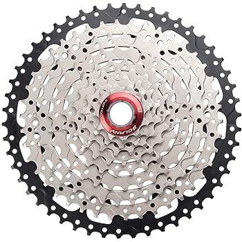 TUCKE MTB Bicicleta de montaña 9 velocidades 11 – 50T Cassette ...