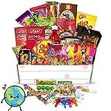 LillyLou® Süssigkeiten aus aller Welt USA Box russiche arabische UK Süßigkeiten Kennenlernpaket