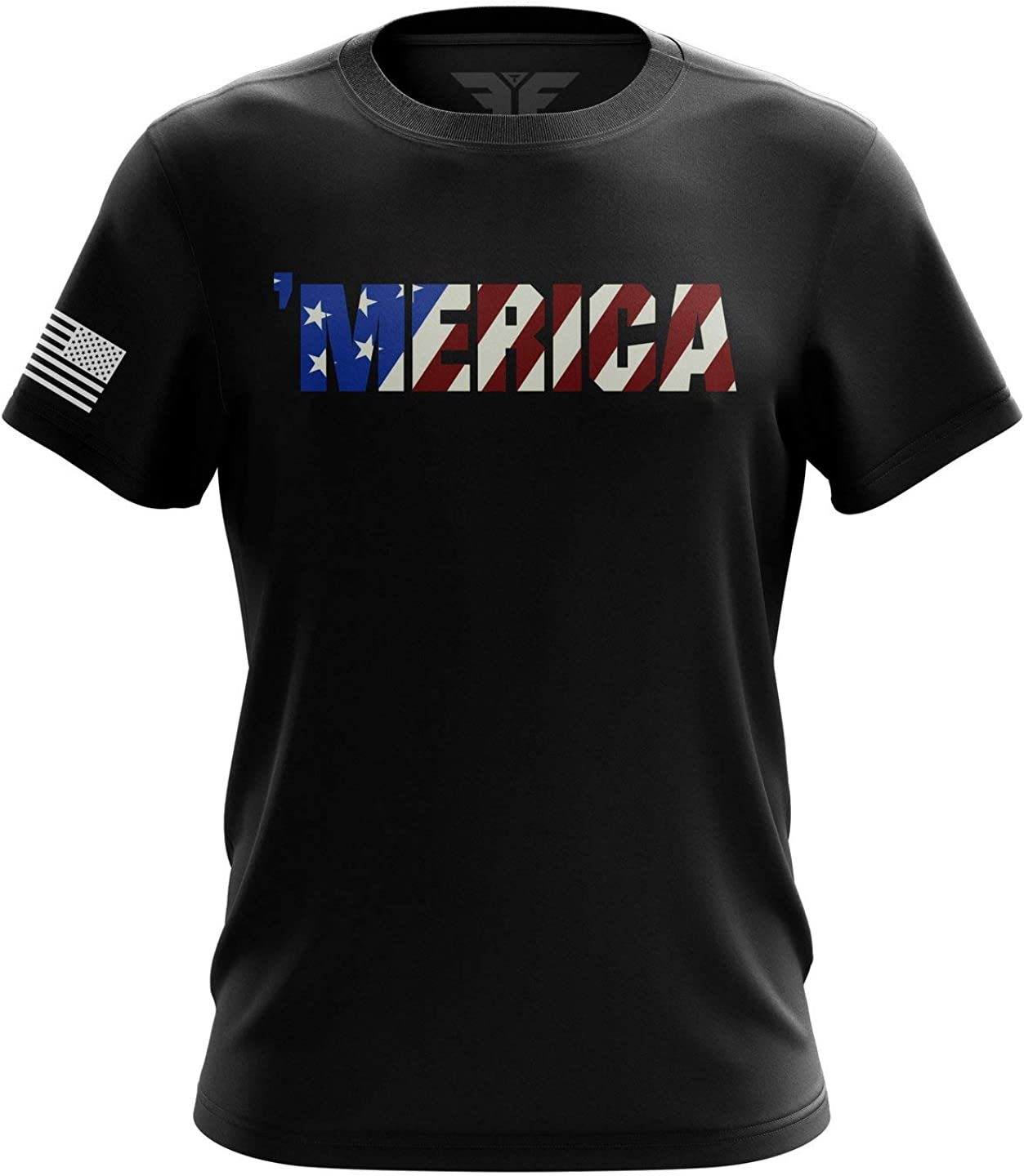 U.S Flag Patriotic Military Army 2021 new Mens T-Shirt Now on sale Printed Packaged