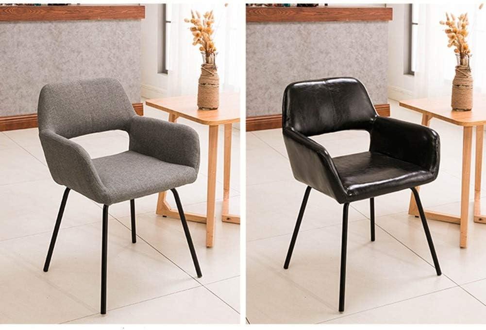 YLXBH Chaise de Salle à Manger Simple en Bois, Meubles d'hôtel de Restaurant Haut de Gamme Portables de décorationYLXBH B-dark Grey