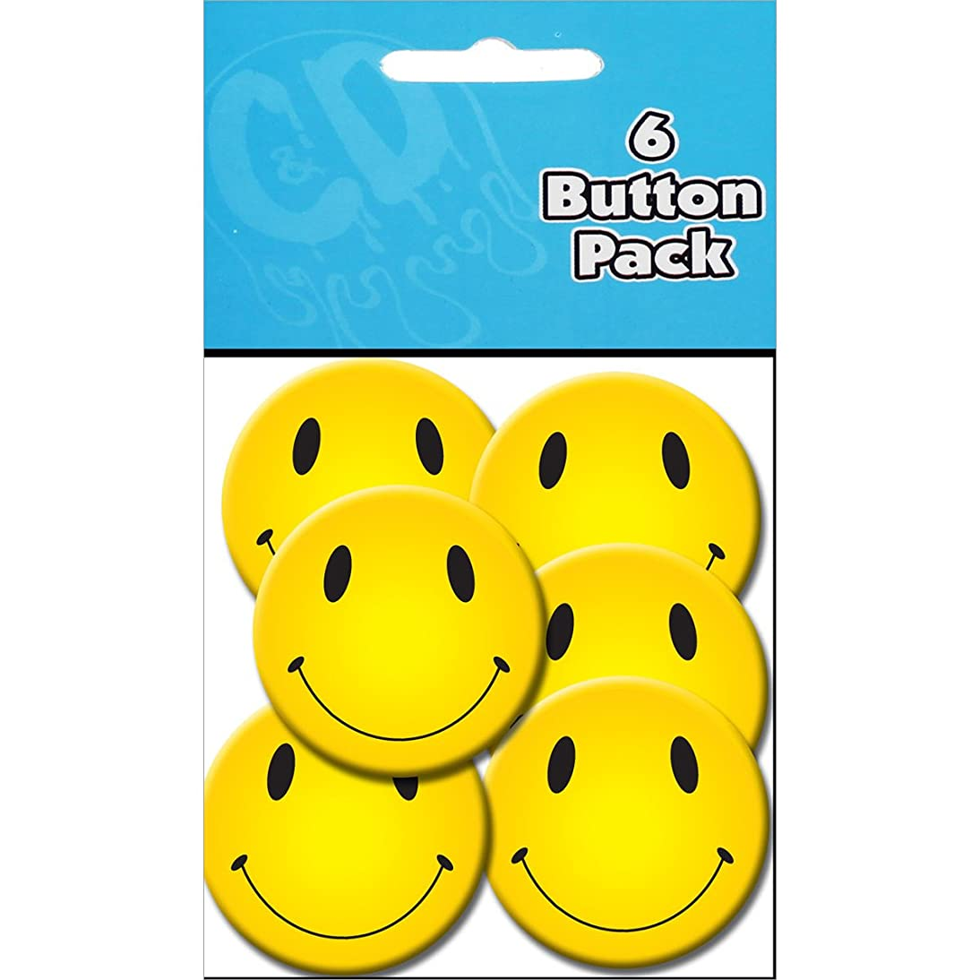 C&D Visionary Button Party Pack (6 Pack), 1.25