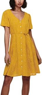 Only womens ONLSONJA LIFE S/S NOOS WVN Dress