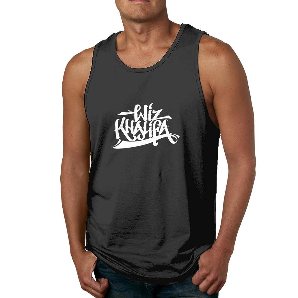 Wiz Khalifa Men's Basketball Sleeveless Tank Top Summer Sport T Shirt lxq6292394