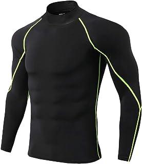 [SeBeliev(シービリーヴ)] コンプレッションウェア ハイネック スポーツウェア 長袖 軽量 オールシーズン アンダーシャツ ジョギング ランニング トレーニング インナー 冷感 吸汗 速乾