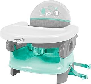 Summer Infant Deluxe Comfort Folding Booster, Elephant Love