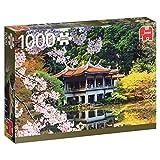 Jumbo- Blossom in Japan pcs Flores en Japón, Puzzle de 1000 Piezas (618361)