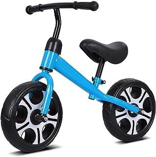 Nfudishpu 12 Inches Balance Bike, for Girls and Boys,Training Bike Without Pedals Lightweight Wheel Adjustable Handlebar/S...