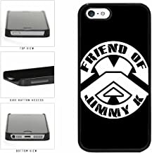 BleuReign(TM) Friend of Jimmy K TPU RUBBER SILICONE Phone Case Back Cover iPhone 5 5s and iPhone SE