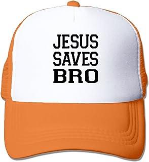 WYF Men women Jesus Saves Bro Christian Graphic Design Outdoor Hip Hop  Mountaineering Cotton Mesh Caps Hats 63a6c9e7c4c2