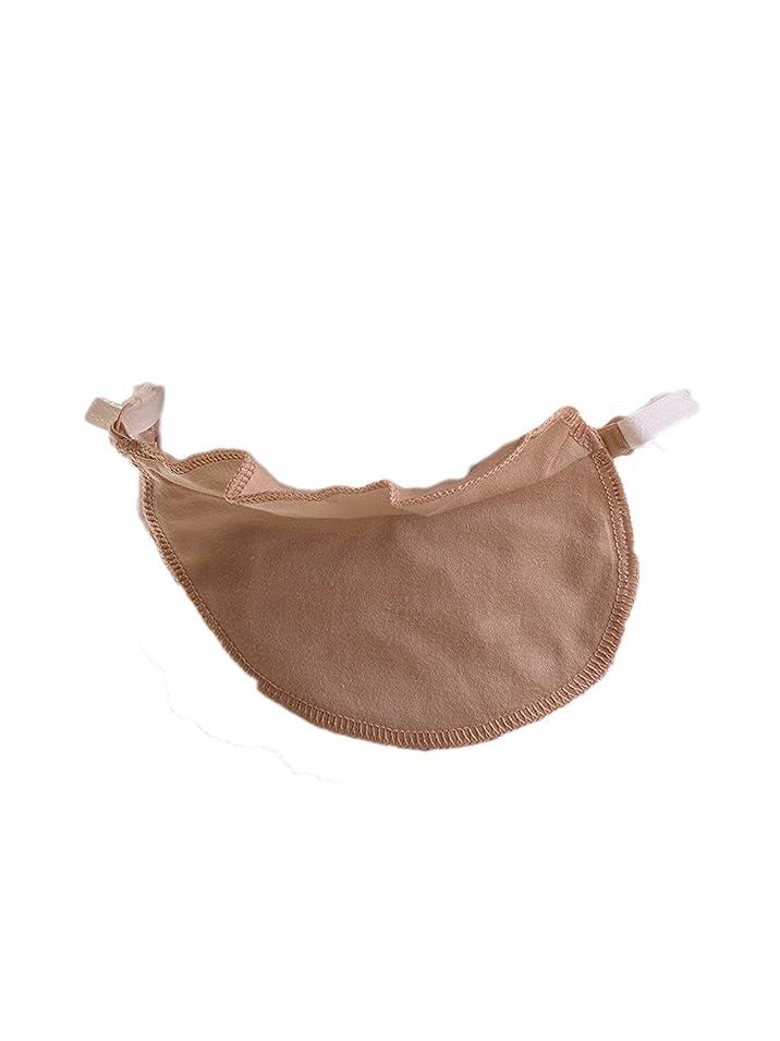 偏差ワイヤーゾーンワンタッチ脇汗パット 日本製ワキ汗パッド 汗じみ防止 汗取り吸収 ブラに取り付けタイプ