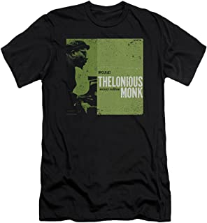 Concord Music Group Thelonious Monk Work! Album Cover Art Adult Slim T-Shirt