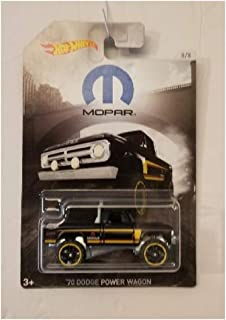 Hot Wheels 1970 Dodge Power Wagon 8/8 2018