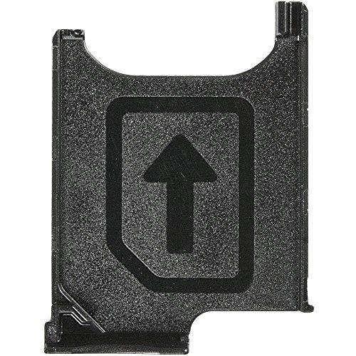Original Sony Simkartenhalter Black/schwarz für Sony C6802, C6806, C6833 Xperia Z Ultra (SIM Tray) - 1272-6336