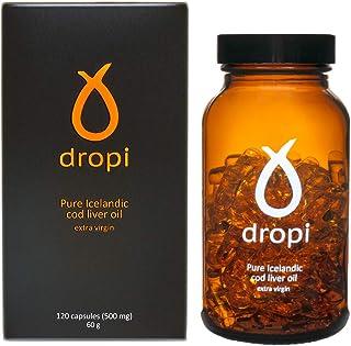 Dropi Cod Liver Oil 2000mg - Omega 3 - Extra Virgin - 120 Capsules
