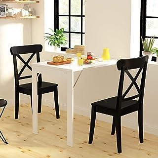 Folding table Multifonction Table Murale Rabattable Contemporain Table Pliante Murale Cuisine Fixés Au Mur Table De Balcon...