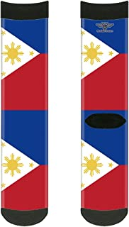 Sock Pair - Polyester - Philippines Flags - CREW