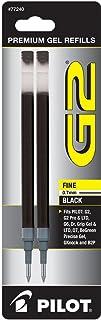 Pilot G2 Gel Ink Refill, 2-Pack for Rolling Ball Pens Fine (0.7mm)