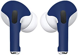 APSkins Skins for AirPods Pro. Protective Wraps Stickers to Cover Air Pods – Compatible Sticker Wrap Decal with Apple Air Pod Pro Accessories - Lifetime Free Replacements (Midnight Blue)