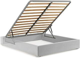Mécanisme pour lit coffre – Réhausseur Trapezi + Pistons à gaz + Ferme matelas (lit double)