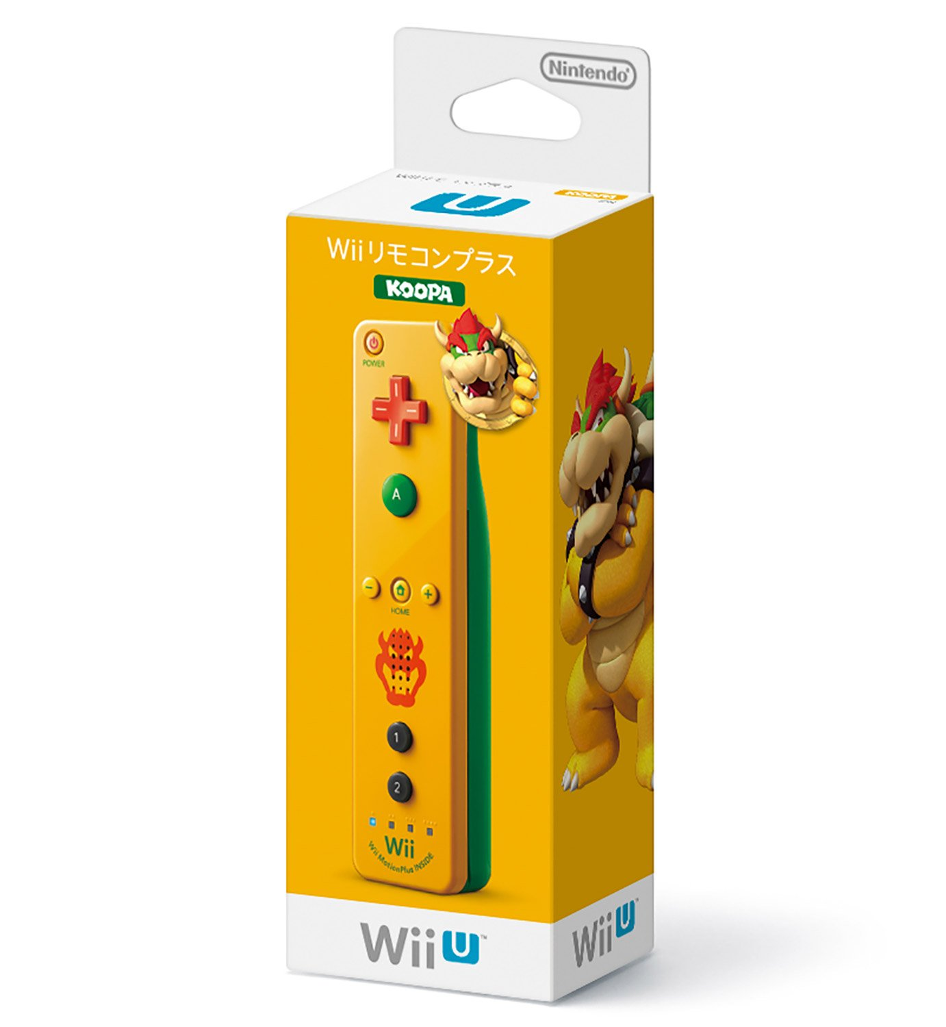 Nintendo Wii Sale National uniform free shipping special price U Remote Plus - Controller Japanese Bowser Ver