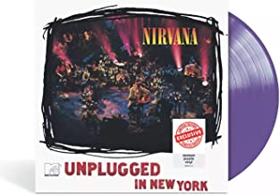 MTV Unplugged In New York - Exclusive Limited Edition Opaque Purple Colored Vinyl LP