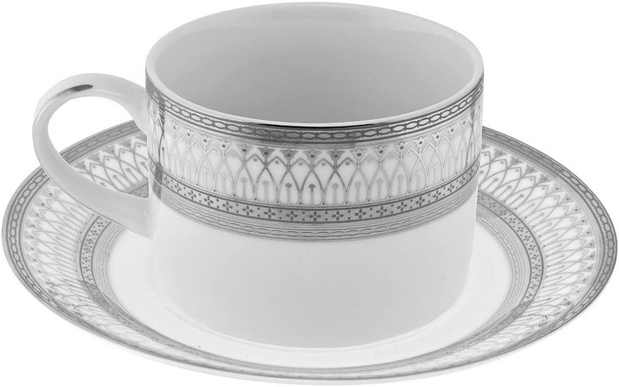 11 Strawberry Street Iriana 8 Oz New product Can Cup Set 6 Saucer S of and Topics on TV