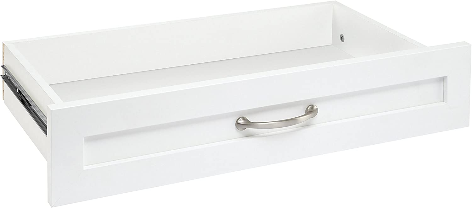 ClosetMaid 4873 SuiteSymphony 25-Inch X 5-Inch Drawer, Pure White