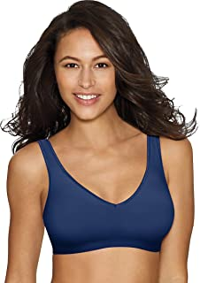 8841363d0b3d4 Hanes womens Comfort Evolution ComfortFlex Fit Wirefree Bra(G796)-In The  Navy-
