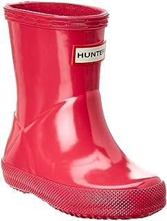 Hunter Kids Unisex First Gloss (Toddler) Bright Pink 13 M US Little Kid