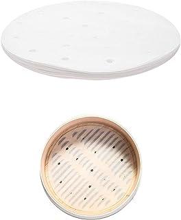 PPX Perforierte Bambus-Dampfgarer, rund, Durchmesser 20,3-25