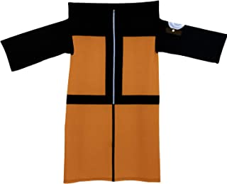 JUST FUNKY Naruto Wearable Blanket [Adult Size] Anime Robe, Super Soft Fleece Throw, Shippuden Blanket (Officially Licensed)
