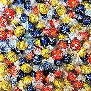 Lindt Lindor Chocolate Truffles 3 Assorted Flavors Dark, Milk, And White Chocolate 150 Count