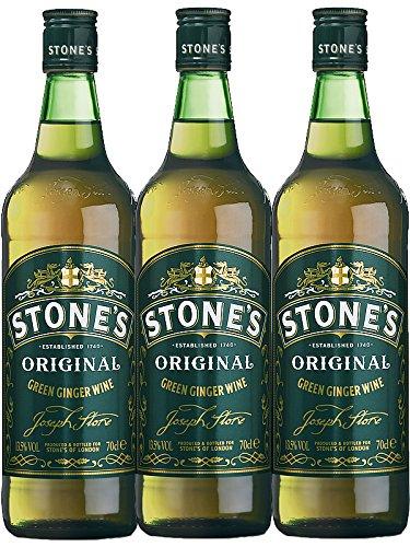 Stones Original Green Ginger Wine England 3 x 0,7 Liter