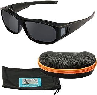 フェリモア スポーツサングラス 超軽量 メガネの上から着用可 UV400 自転車 ドライブ ケース付