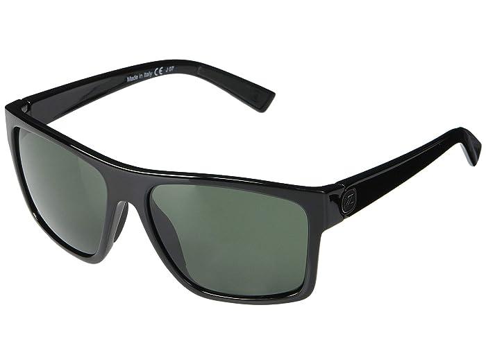 VonZipper  Dipstick (Black Gloss Vintage Grey) Fashion Sunglasses