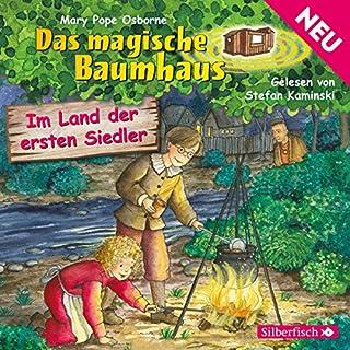 Im Land der ersten Siedler (Das magische Baumhaus 25) Titelbild