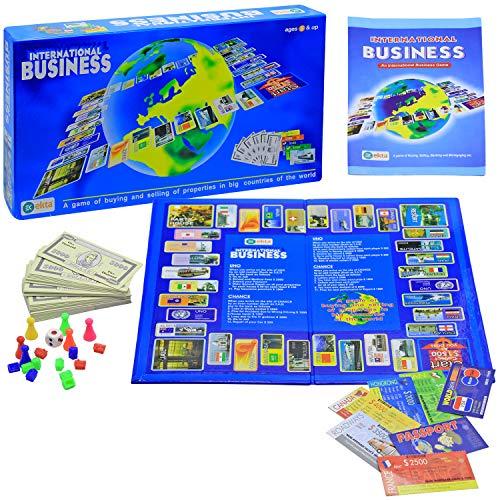 EKTA International Business A Board Game. Kids Toys Games, Bonanza Game of Money