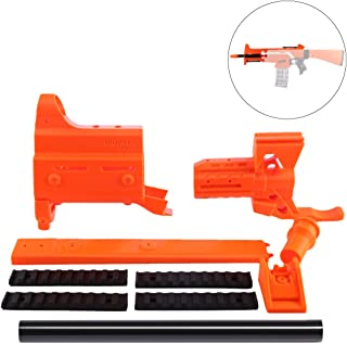 WOLFBUSH Stryfe Mod Kit Orange, Worker f10555 3D Printed Front Tube with 25CM Inner Pipe for Nerf Stryfe